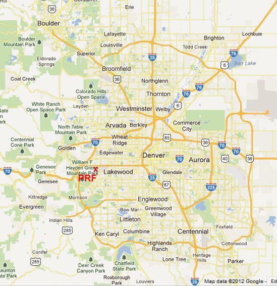 Metro Denver Map.Metro Denver Map Prf1 Lakewood Plumbing Heating